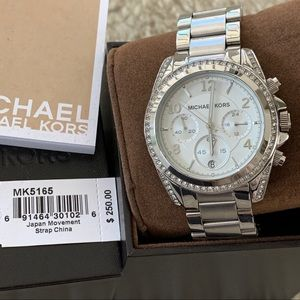 Michael Kors Silver Blair Watch
